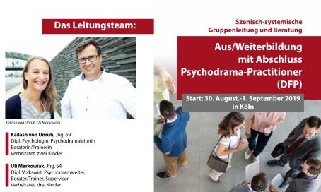Psychodrama Ausbildung in Köln, deutsch
